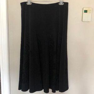 NWT Black skirt
